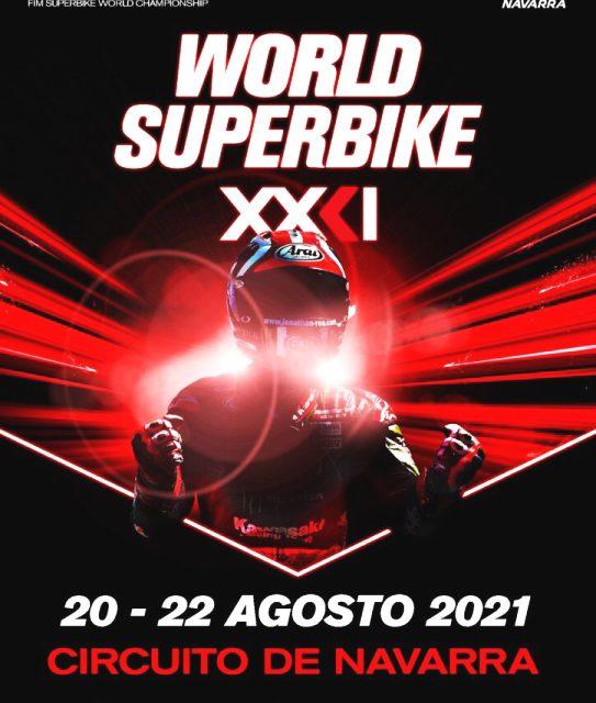 HORARIO MUNDIAL SUPERBIKES WORLDSBK 2021 7º: CIRCUITO LOS ARCOS, NAVARRA