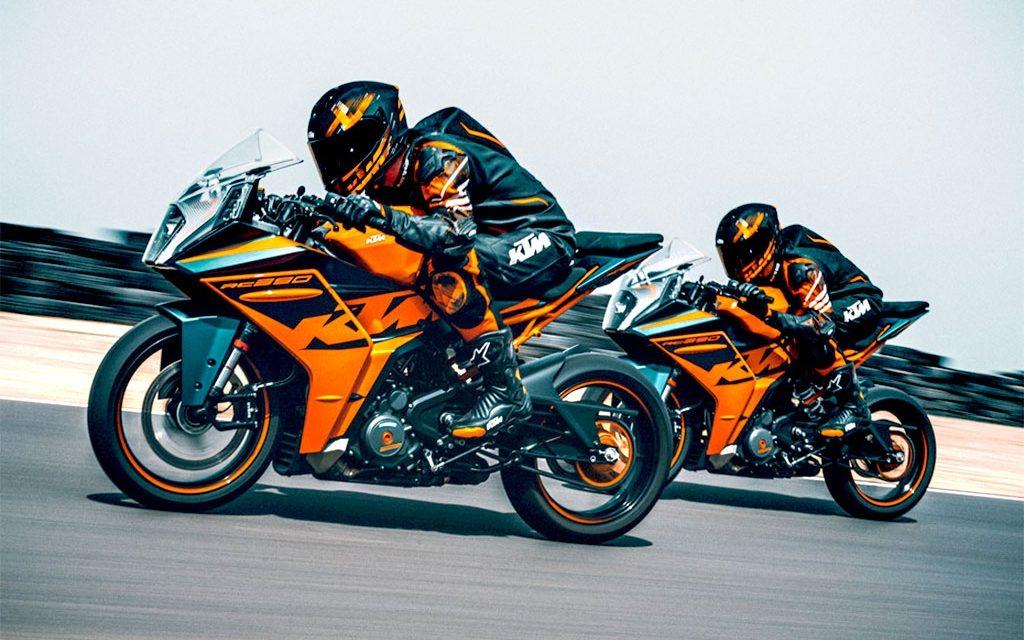 MOTOS 2022: LAS RENOVADAS KTM RC 125+390