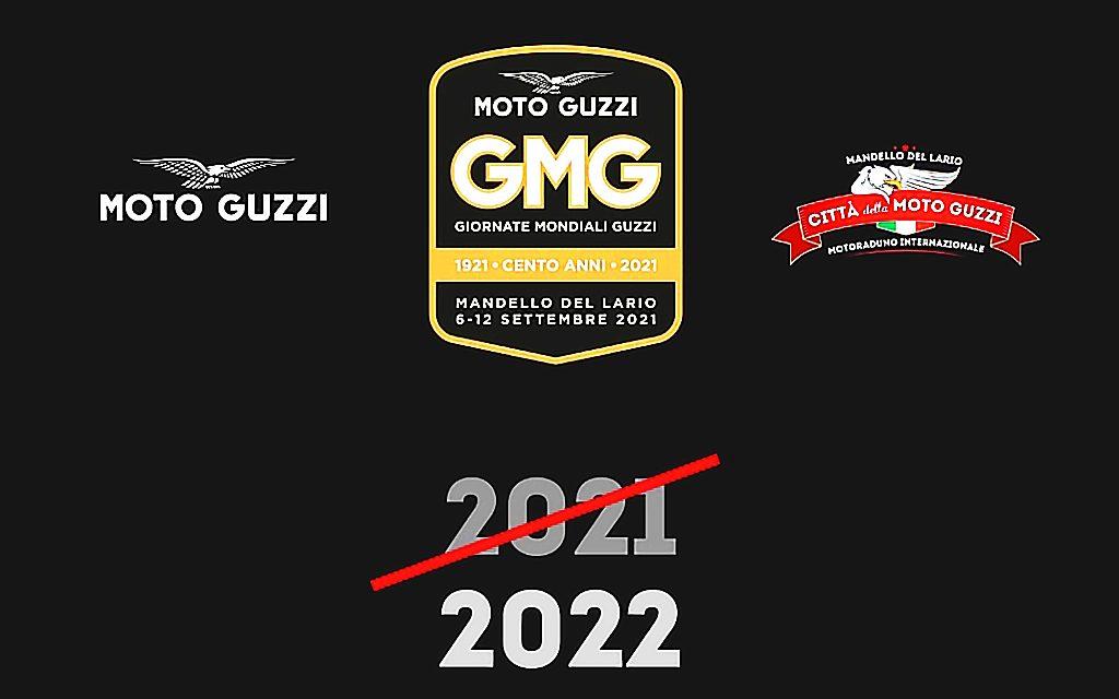 LAS JORNADAS MUNDIALES MOTO GUZZI (GMG) RETRASADAS AL 2022