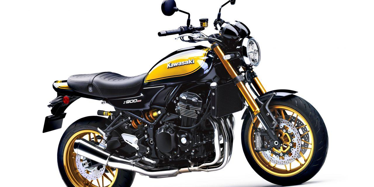 MOTOS 2022: KAWASAKI Z900 RS SE, VINTAGE DE LUXE