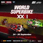 HORARIO MUNDIAL SUPERBIKES WORLDSBK 2021: 10º ROUND ESPAÑA MOTUL. CIRCUITO JEREZ.